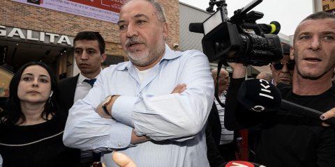 Photo of Avigdor Lieberman