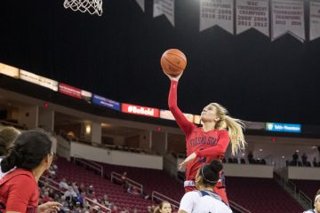 Photo of Fresno State women's basketball standout Maddi Utti
