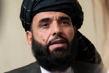 Photo of Suhail Shaheen, spokesman for the Taliban's political office in Doha