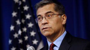 Photo of California Attorney General Xavier Becerra