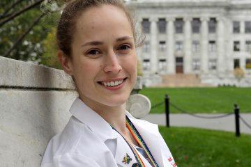Photo of Harvard Medical School student Aliya Feroe