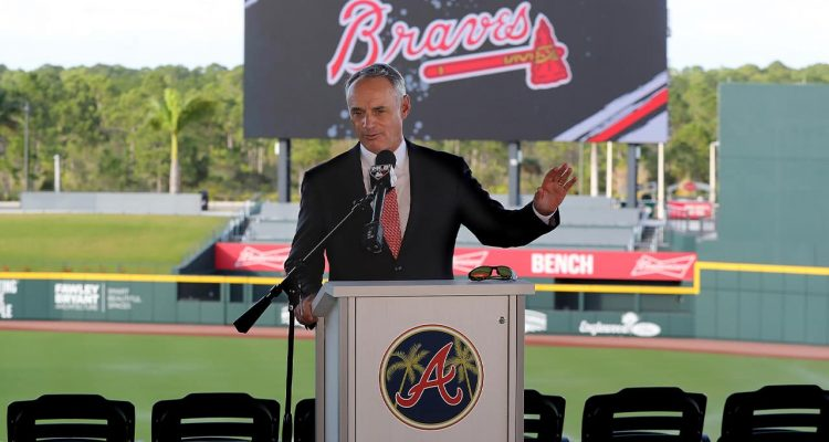 Photo of Baseball Commissioner Rob Manfred