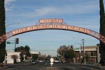 Photo of a Modesto sign