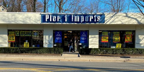 Photo of a Pier 1 Imports store