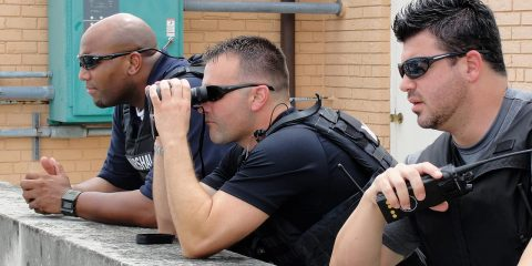 Photo of U.S. Marshal's fugitive task force members in New Orleans