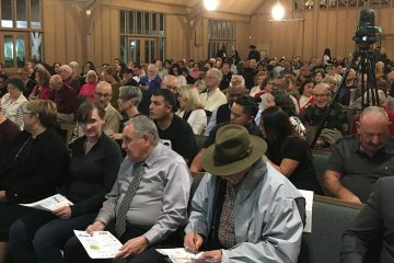 Photo of the Fresno4All forum crowd