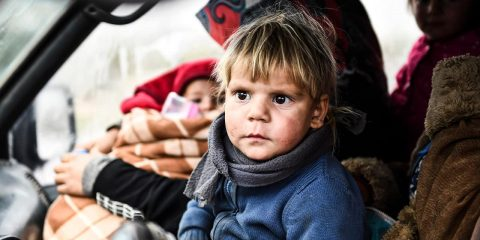 Photo of Syrian children