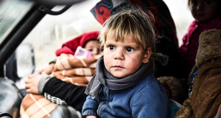Photo of Syrian children