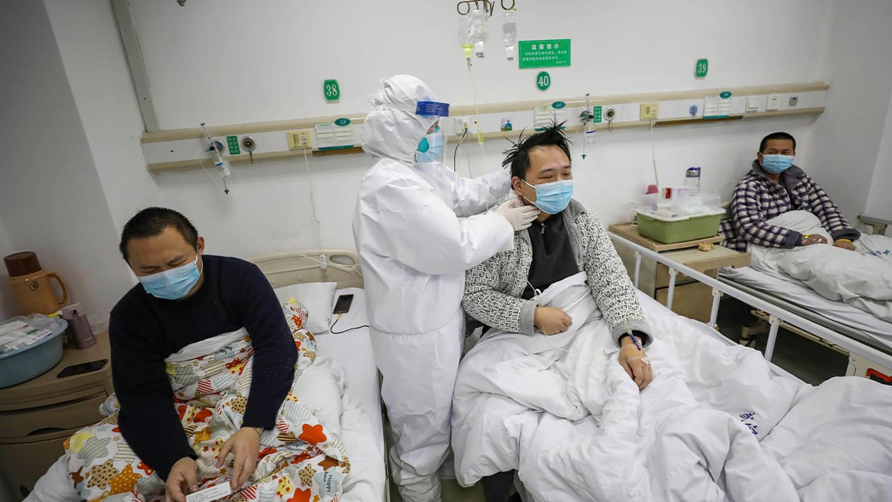 Photo of doctors checking the conditions of patients