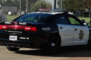 Photo of a Fresno Police car