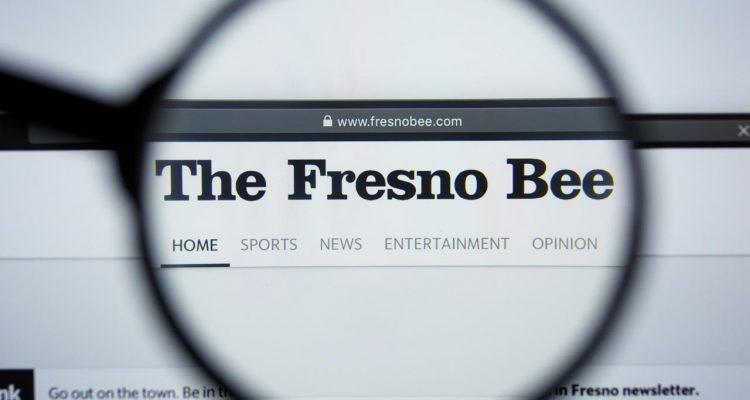 Photo of The Fresno Bee website