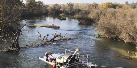 Photo of San Joaquin River Restoration Program staff