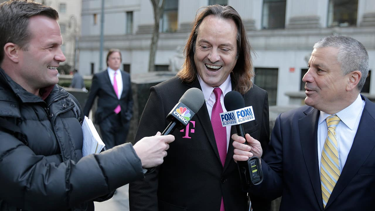 Photo of T-Mobile chief executive John Legere