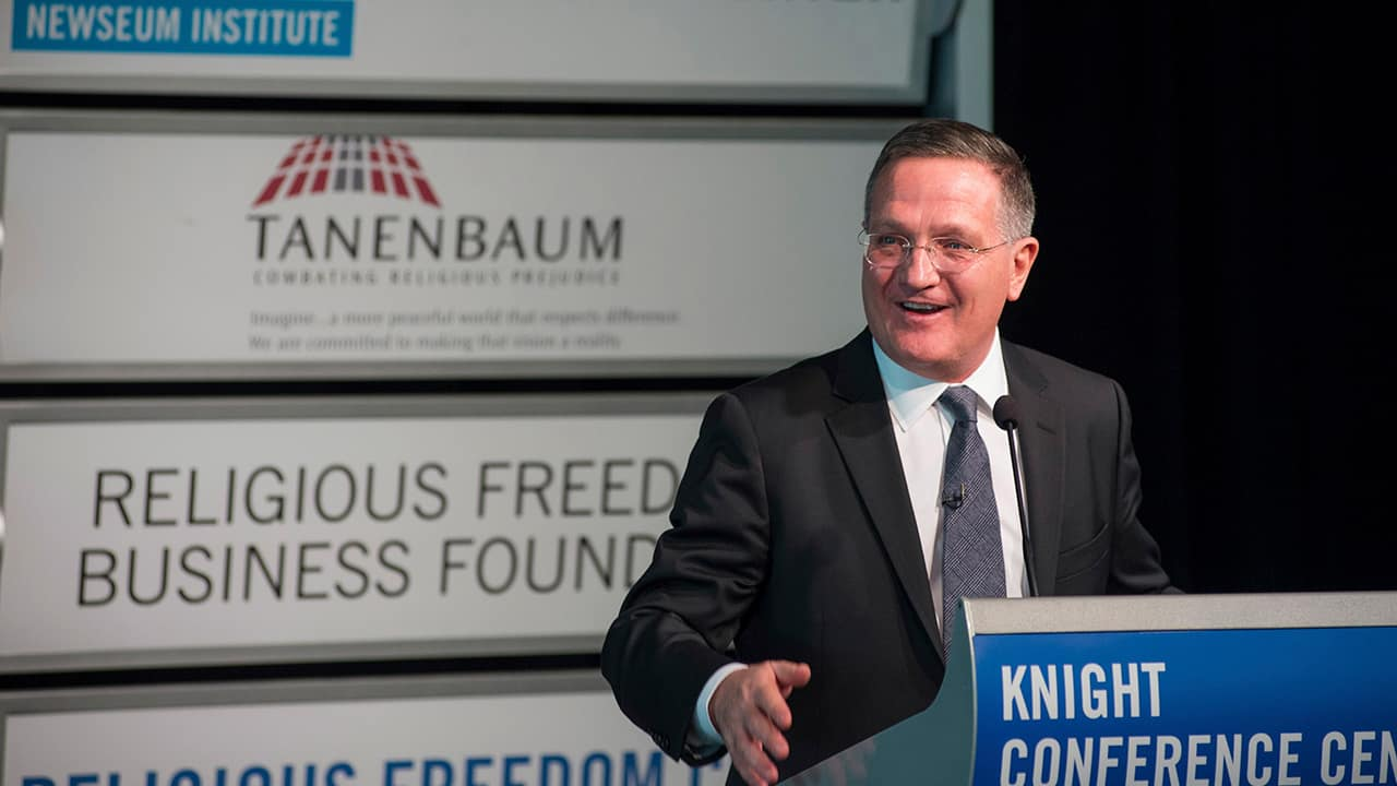 Photo of Brian Grim, president of the Religious Freedom & Business Foundation