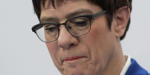 Photo of Defense Minister Annegret Kramp-Karrenbauer