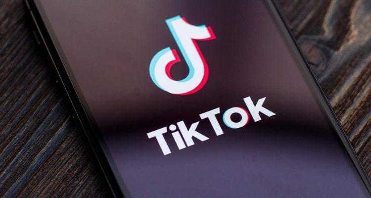 Photo of the TikTok app on an iPhone screen