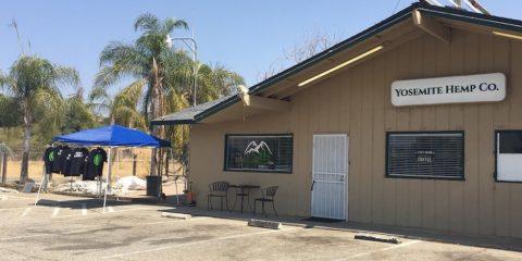 Photo of the exterior of the Yosemite Hemp Company in Fresno County