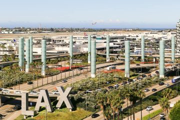 Photo of the Los Angeles International Airport
