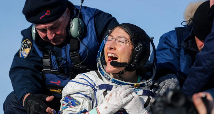 Photo of U.S. astronaut Christina Koch