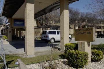 Photo of empty lodging facilities at Joint Base San Antonio-Lackland, Texas