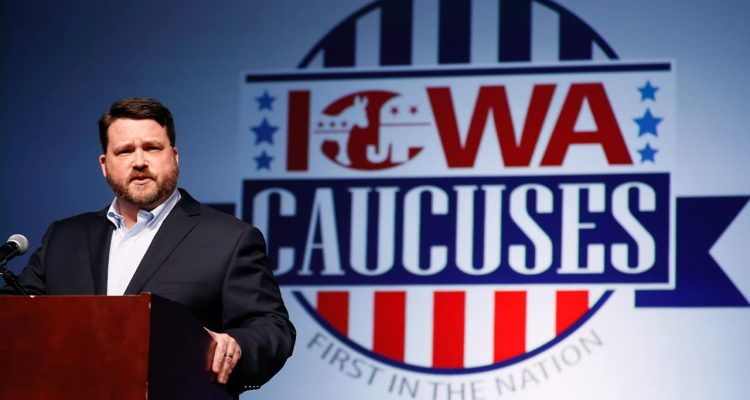 Photo of Iowa Democratic Party chairman Troy Price