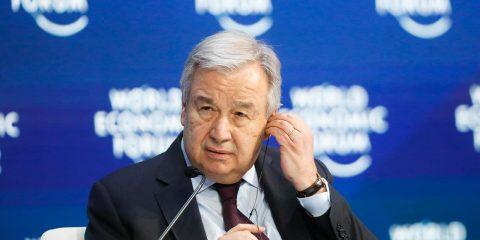 Photo of United Nations Secretary-General Antonio Guterres
