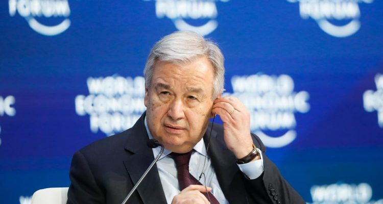 Photo of United Nations Secretary-General Antonio Guterres