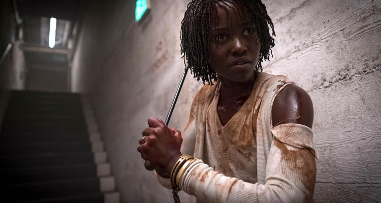 "Photo of Lupita Nyong'o in a scene from ""Us."""