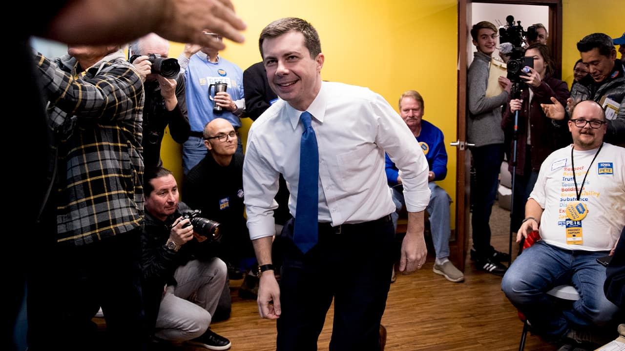 Photo of Pete Buttigieg