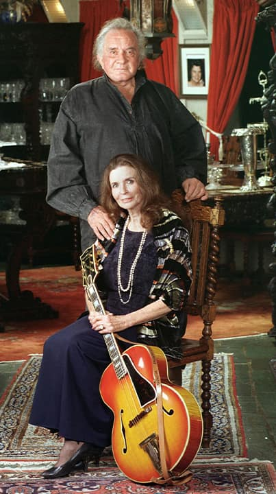 Photo of Johnny Cash and June Carter Cash