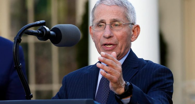 Photo of Dr. Anthony Fauci, director of the National Institute of Allergy and Infectious Diseases