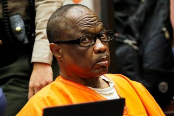 """Photo of Lonnie Franklin Jr., a convicted serial killer known as the """"Grim Sleeper"""""""