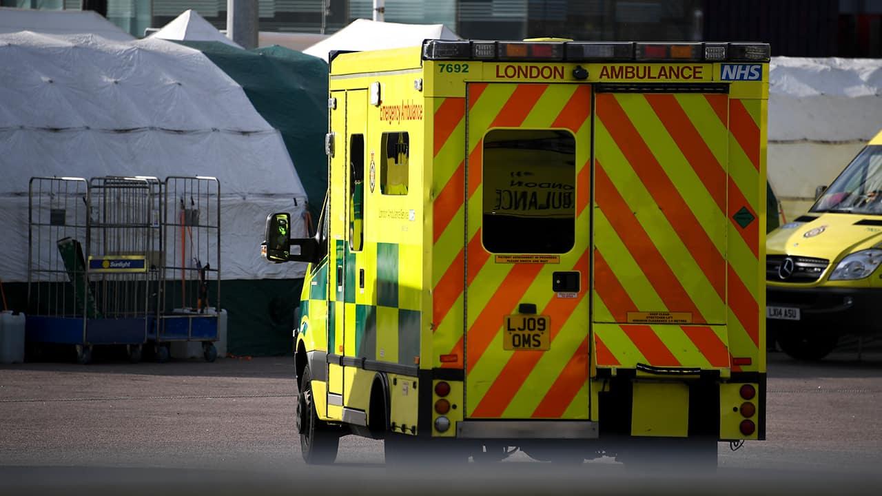 Photo of a London ambulance