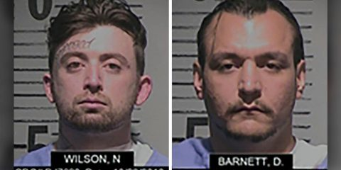 Photo of inmates Noah Wilson and Derek Barnett