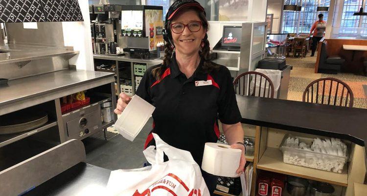 Photo of Frisch's Big Boy restaurant employee Nicole Cox