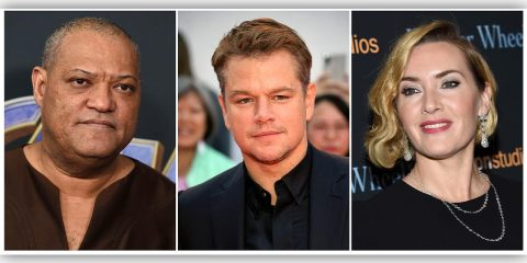 Photo of Laurence Fishburne, Matt Damon and Kate Winslet