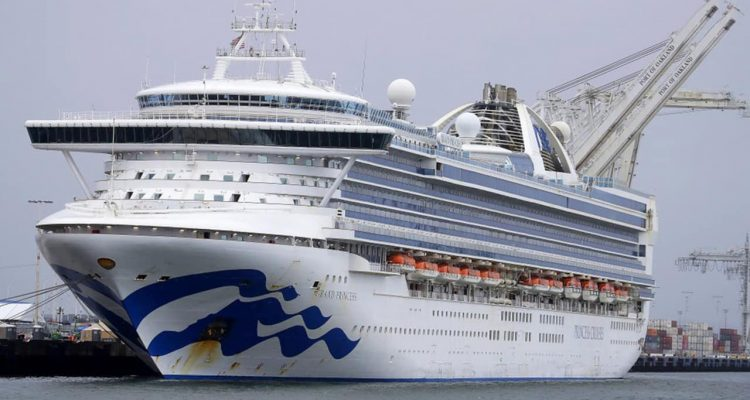 Photo of the Grand Princess cruise ship