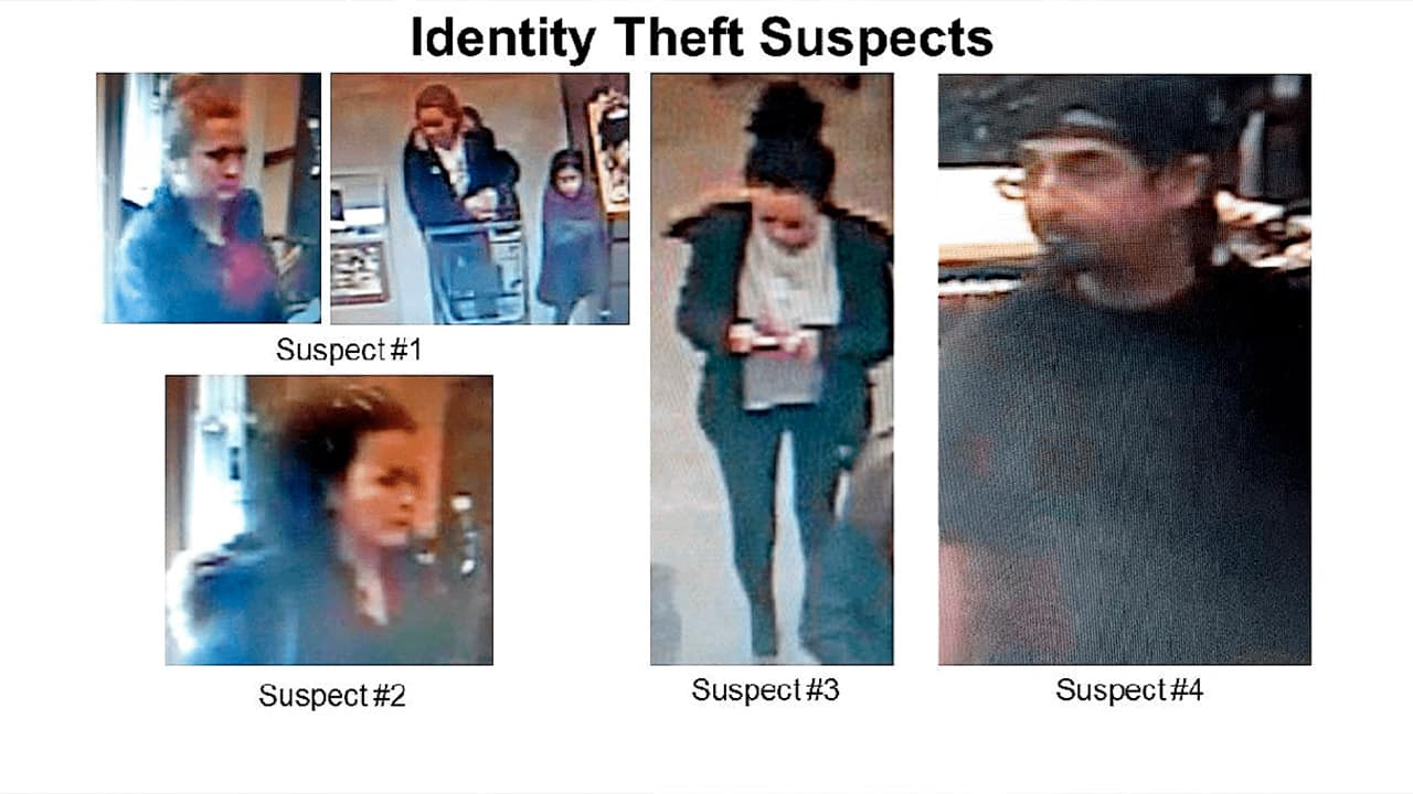Nordstrom Rack ID theft suspects in Fresno, California