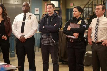 Photo of the cast of Brooklyn Nine-Nine