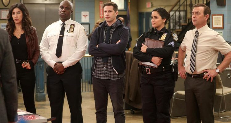 Photo of the cast of Brooklyn Nine-Nine