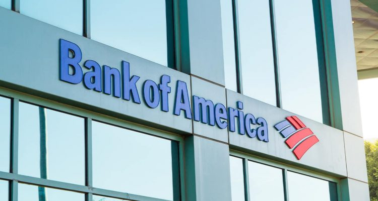 Photo of a Bank of America building