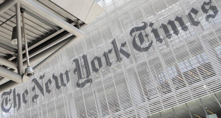 Photo of the New York Times building