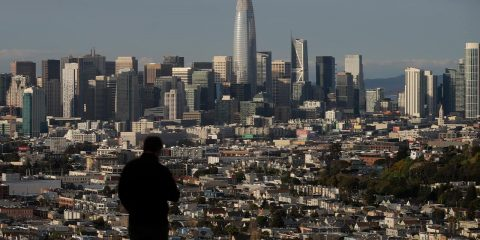Photo of San Francisco skyline