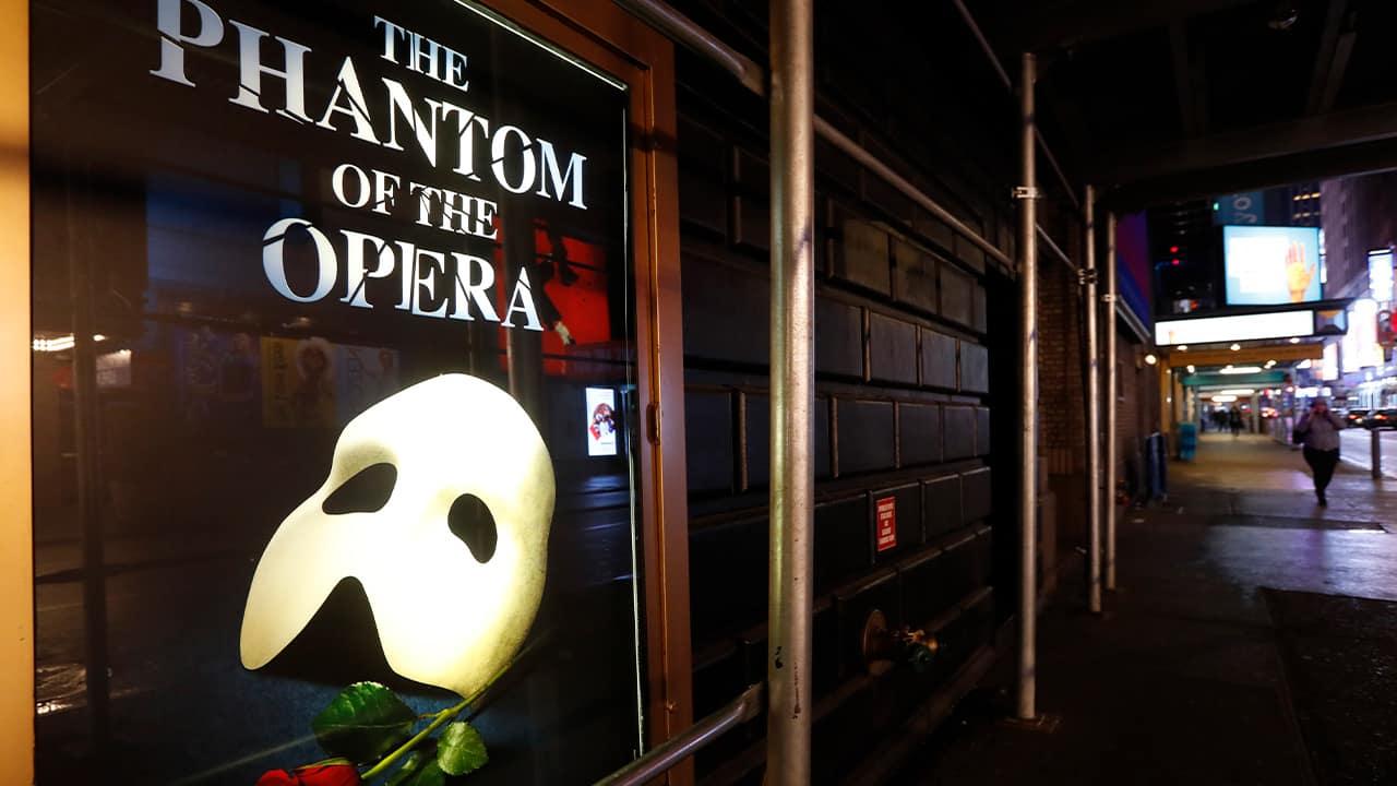 "Photo of ""The Phantom of the Opera"" poster"