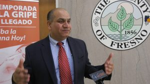 Photo of Dr. Rais Vohra, Fresno County interim public health officer