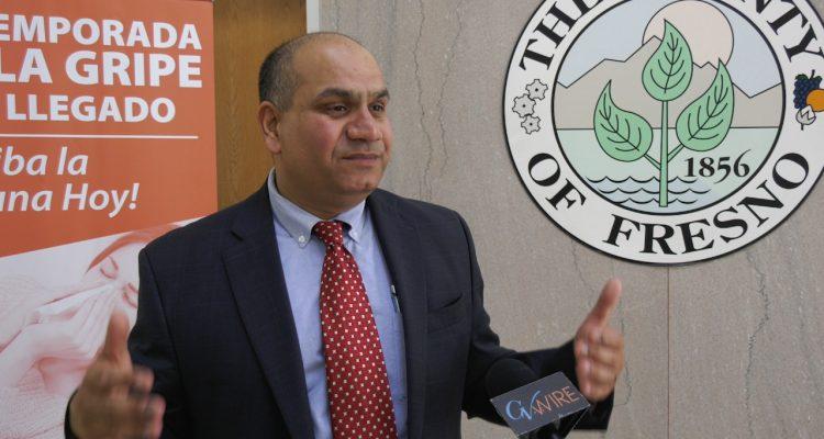 Photo of Dr. Rais Vohra, Fresno County interim public health officer