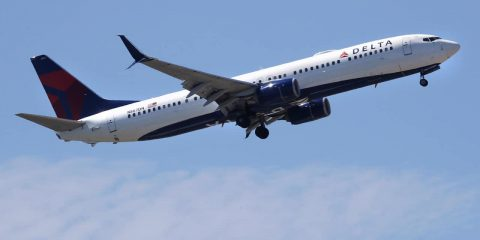 Photo of a Delta plane