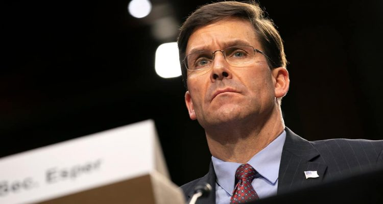 Photo of Defense Secretary Mark Esper