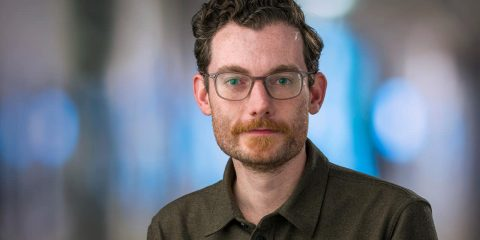 Photo of Trevor Bedford, a computational biologist at the Fred Hutchinson Cancer Research Center