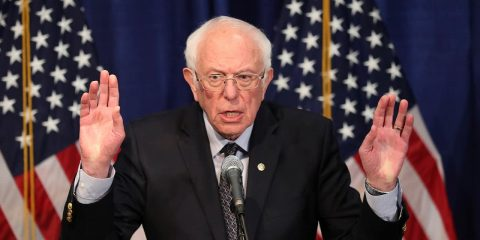Photo of Sen. Bernie Sanders